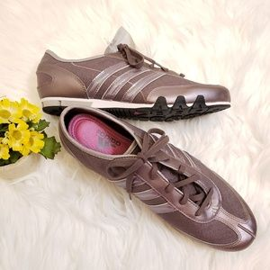 NWT Adidas Amala Metallic Lilac Shoes Sz 8.5